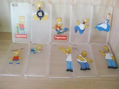 2015 new For iphone Case Hard PC Transparent Cover Homer Simpson Gasp Matt Clear case For Apple iPhone 5 Case & iPhone 5s Case | Gsmcases4you