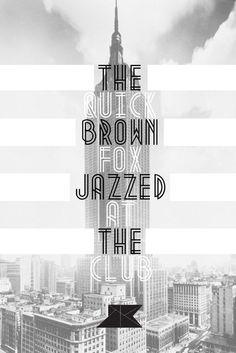 1920's inspired font. Metropolis by JOSIP KELAVA