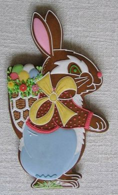 zajíc ~ Easter Bunny Cookie Easter Cookies, Birthday Cookies, Christmas Cookies, Cookie Decorating Supplies, Holiday Cakes, Edible Art, Easter Recipes, Fun Desserts, Gingerbread