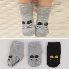 韩国新款秋冬季全棉卡通立体儿童短袜 小童婴儿宝宝防滑地板袜子