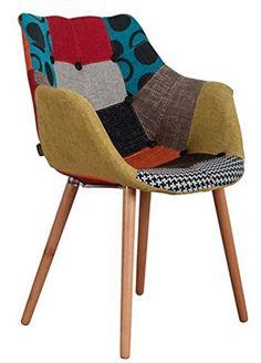fauteuil patchwork scandinave java fauteuils maisons et d co. Black Bedroom Furniture Sets. Home Design Ideas