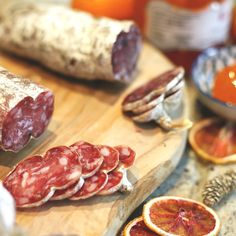 Our fine charcuterie is perfect for Christmas dinners, or as a festive gift for foodies. Meat Recipes, Cooking Recipes, Incredible Recipes, Polymer Clay Flowers, Polymer Clay Miniatures, Smoking Meat, Charcuterie, The Cure, Christmas Dinners