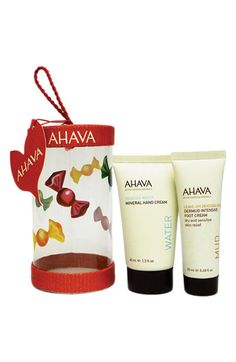 AHAVA Hand & Foot Cream Ornament Duo available at #Nordstrom