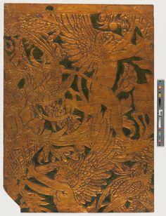Embossed Wallpaper Sample | Crane, Walter, 1845-1915 (Designer) | 2008.6.94 -- Historic New England