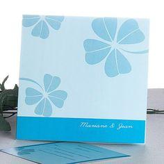 1000 images about faire part mariage bleu on pinterest. Black Bedroom Furniture Sets. Home Design Ideas
