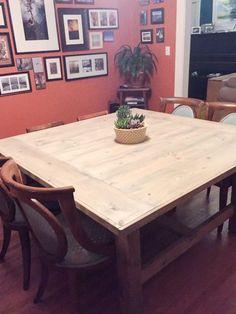 Amy's Square Farmhouse Table
