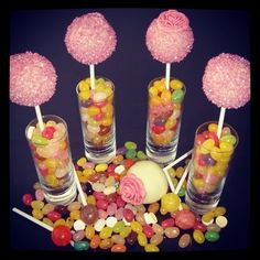Idea for cake pop display