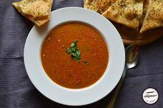 Supa picanta de linte Supe, Ethnic Recipes, Food, Essen, Meals, Yemek, Eten