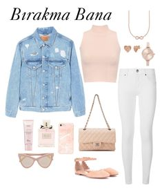 """💞"" by marinaiplikci on Polyvore featuring Burberry, Chloé, MANGO MAN, WearAll, Chanel, Thomas Sabo, BERRICLE, Michael Kors, Christian Dior and STELLA McCARTNEY"