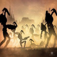 Charging Into Battle - Sebastian Del Grosso