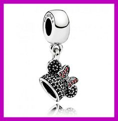 Have you seen the new Pandora Disney jewelry? Love the Minnie Mouse charm…(photos and details)