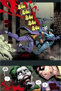 Red Hood Dreams About Killing The Joker