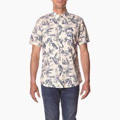 #element #spring #summer #shirt #floral #print #tropicalthunder  http://www.urbag.cz/letni-panske-kosile-tenisky-doplnky-znacky-element-kolekce-tropical-thunder/