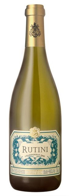 Rutini ChardonnayTupungato, MendozaThe Rutini family winemaking tradition began in the early century in Le Marche, Italy, when Francisco Rutini sta. Champagne, Wine, Drinks, Bottle, Drinking, Beverages, Flask, Drink, Beverage