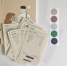 g e o r g i a n a brown aesthetic soft minimalistic light receipts journal diar. g e o r g i a n a brown aesthetic soft minimalistic light receipts journal diary notebook green gr Korean Aesthetic, Brown Aesthetic, Bussiness Card, Shades Of Beige, Cute Packaging, Packaging Design Inspiration, Material Design, Grunge, Branding Design