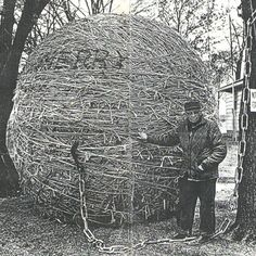 World Largest Twine Ball http://www.worldslargestthings.com/wllist.htm