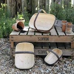 Could there be a more classic gift for a gardener than a Sussex Trug?