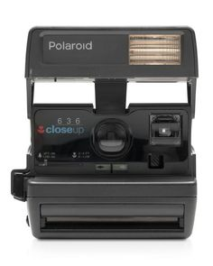 Impossible Polaroid 600 Square Camera  | Plastic | Imported | Quick and easy-to-use, the perfect camera for beginners | Point-and-shoot with a built-in automatic flash and a fixed-focus lens | Designe