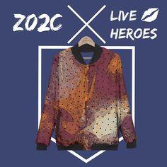 New things on LiveHeroes 💋💋💋 #design #designer #designing #jacket #apparel #fashion #onlineshopping #fashionista #artist #individualartist #independentartist #liveheroes #zala02creations @liveheroes