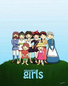 Miyazaki's Girls || THEY'RE FORGETTING SATSUKE!!! D: