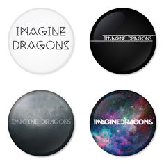 IMAGINE DRAGONS Rock Band logo Button Badge 1.75 inch Set. 4 pcs in package. You can choose back side of badge. we have Pinback ($7.49), Fridge Magnet ($8.49), Pocket Mirror ($8.49), Bottle opener Keychain ($9.99). The best Ideas Gift for men, Birthday, Party, Fashion, Concert. Member is andrew tolman, brittany tolman, andrew beck, theresa flaminio, aurora florence, dave lemke. Famous studio album is imagine dragons, night visions, hear me, continued silence, it's time, smoke + mirrors.