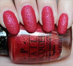 OPI Magazine Cover Mouse (Liquid Sand from the Couture de Minnie Collection out in June. Click through for an in-depth review and more swatches!)