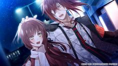 Enomoto Mineo and Hoshino Ichika 【Collar×Malice】 Funny Naruto Memes, Under The Moon, K Project, Diabolik Lovers, Manga, Yandere, Anime Couples, Art Tutorials, Game Art