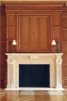 Chiampo Marble Fireplace Mantel