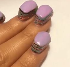 What 100 Coats Of Nail Polish Looks Like (Video)