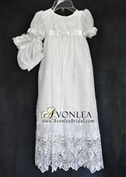 Christening and Blessing Gown, Savannah Style