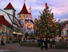 Helen, GA. America's 20 Best Small Towns for Christmas  - CountryLiving.com