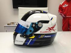 Brett King Designs. One of the finest racing helmet designers in the world.