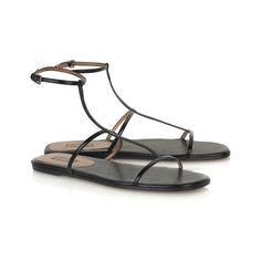 Alaïa shoes (net-a-porter.com) ($665) ❤ liked on Polyvore