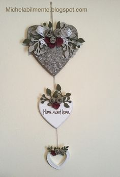 1 million+ Stunning Free Images to Use Anywhere Wooden Hearts Crafts, Heart Crafts, Wood Crafts, Diy And Crafts, Valentine Decorations, Handmade Decorations, Rustic Christmas, Christmas Crafts, Mod Podge Crafts