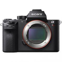 Sony Alpha A7RII Mirrorless Fotocamera Digitale Solo Corpo ILCE7RM2 - Nero (Solo Inglese)