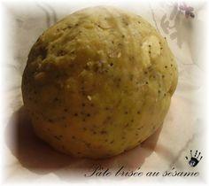 Pâte brisée salé aux graines de pavot - Tu veux la recette ? http://tuveuxlarecette.over-blog.com/article-pate-brisee-sale-aux-graines-de-pavot-57585582.html