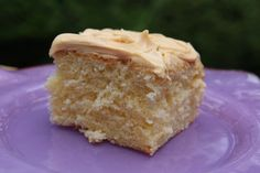 This is our go-to yellow cake recipe. It's buttery, tender and moist and we developed this version with all-purpose flour because it's a pantry staple. No need for a box mix when you have such a fast and easy recipe at hand. This cake is a great start if you are new to baking from scratch.  Yellow Cake Recipe | Bakepedia