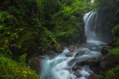 Murg Fall - after several weeks of rainy weather conditions, this little…