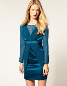 Want to try the latest fashion? we give you the best fashion store in UK, Latest fashion, top brands, handpicked for you and from the Best seller. Silk Satin Dress, Satin Dresses, Gowns, Dress P, Jacket Dress, Fancy Dress, Formal Cocktail Dress, Turquoise Dress, Karen Millen