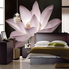 3D wallpapers are incredibly versatile and can be customised to your personalised style or theme. They give a realistic feel to the design and bring out the best in the space. Visit Atom Interiors website to know more! #Atominteriors #interiordesigners #wallpapers #wallpaperdesigns #wallpapersticker #wallpaperdinding #wallpapermurah #wallpaperdecor #homedecor #walldecor Bedroom Wall Designs, Bedroom Decor, Wall Decor, Bedroom Bed, 3d Wall Murals, Removable Wall Murals, Large Floral Wallpaper, Tv Wall Design, Wallpaper Decor