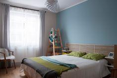 MIKU grafika & wnętrza » Błękitna sypialnia