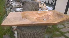 Oak hand made sink