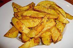 Fettarme Kartoffelspalten aus dem Ofen 1