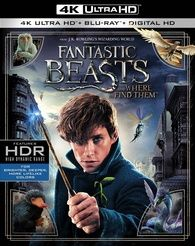 Fantastic Beasts and Where to Find Them 4K (Blu-ray) Temporary cover art