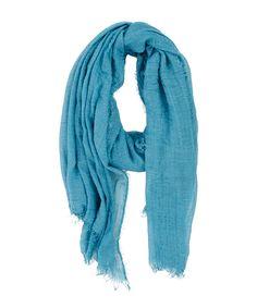 Fray Crinkle Scarf Aqua - Jenterommet Crinkles, Aqua, Fashion, Moda, Water, Fashion Styles, Fashion Illustrations