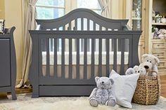 Million Dollar Baby Ashbury 4-in-1 Convertible Crib Manor Grey