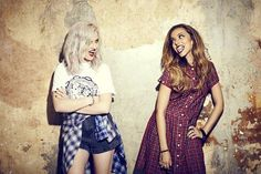 Perrie and Jade for Bliss Magazine