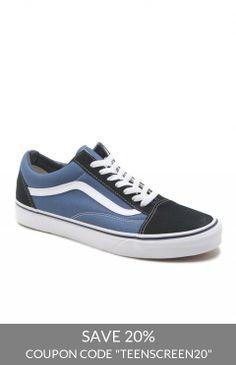 263405878f99 Vans Old Skool Checkerboard Shoes Vans Old Skool Navy