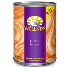 Wellness Complete Health Natural Grain Free Wet Canned Cat Food Recipes are healthy natural cat foods for adult cats with excellent sources of protein and essential fatty acids for complete and balan. Organic Cat Food, Natural Pet Food, Natural Health, Chicken Pate Recipe, Diet Cat Food, Mineral Food, Cat Food Brands, Vitamin A Foods, Canned Cat Food