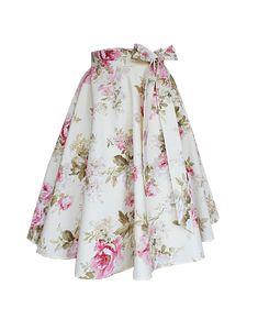 PonRoe Lena   Magdalena Leitner Floral, Skirts, Fashion, Gowns, Figurine, Moda, Fashion Styles, Flowers, Skirt